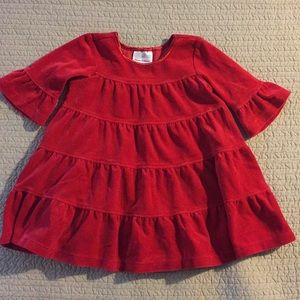 Hanna Andersson red velvet dress